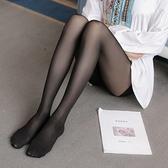 打底褲 加肥加大碼女裝200斤胖mm絲襪連褲襪超薄12D透肉不勾絲鋼絲襪F4054韓衣裳