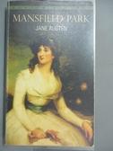 【書寶二手書T2/原文小說_HDG】Mansfield Park_Austen, Jane