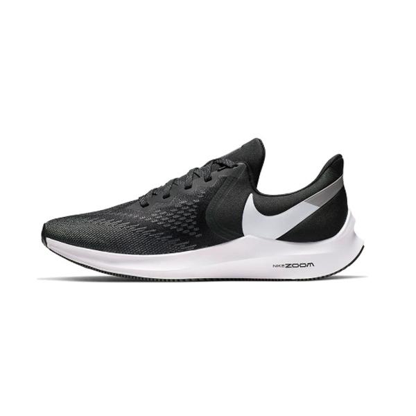 NIKE ZOOM WINFLO 6 男鞋 路跑 慢跑 運動鞋 黑白 AQ7497001【FEEL 9S】