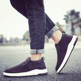 內增高男鞋 帆布鞋內增高懶人韓版潮流休閑男鞋子老北京布鞋
