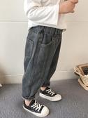 牛仔褲男童牛仔褲2020春秋裝新款韓版男孩休閒褲小童寶寶洋氣兒童長褲潮 新品