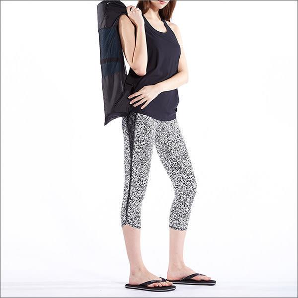 側開叉八分貼褲TAQ-10613 - 百貨專櫃品牌 TOUCH AERO 瑜珈服有氧服韻律服