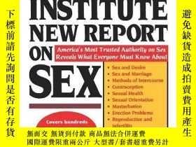 二手書博民逛書店The罕見Kinsey Institute New Report On SexY256260 June M.