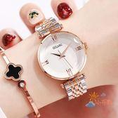 女式手錶防水時尚款女新款手錶女學生正韓簡約休閒大氣WY 一件82折