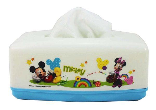 【卡漫城】 米奇 面紙套 白配藍 ㊣版 面紙盒 桌上型 米老鼠 米奇妙妙屋 米妮 Mickey Minnie 台灣製