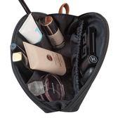 聖誕交換禮物-韓國化妝包小號多功能大容量隨身手拿防水旅行便攜迷你簡約收納袋