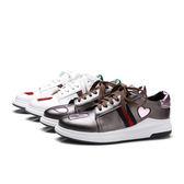 {丁果時尚}大尺碼女鞋34-43►2017春夏歐美明星款小白鞋休閒鞋2色