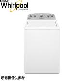 【Whirlpool惠而浦】12公斤 波浪型長棒直立式洗衣機 8TWTW4955JW