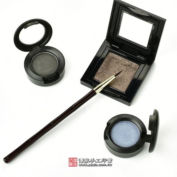 傳家全手工精製黑檀木胎毛化妝刷1支,胎毛眼線筆(小支)