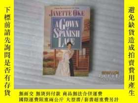二手書博民逛書店罕見a,gown,of,spanish,laceY22157 j