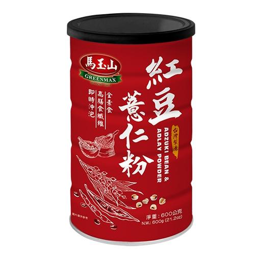 馬玉山紅豆薏仁粉600G【愛買】