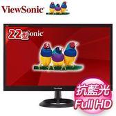 ViewSonic 優派 VA2261-8 22型 零閃頻與抗藍光液晶螢幕