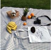 網紅野餐墊防潮墊ins風戶外防水便攜草坪墊田園日式野餐布可機洗    蘑菇街小屋