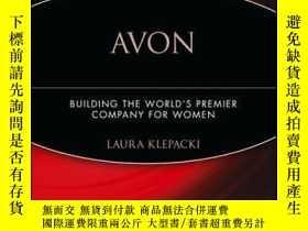 二手書博民逛書店Avon:罕見Building The World s Premier Company For WomenY4