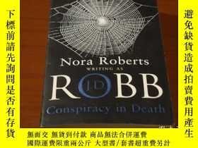 二手書博民逛書店Conspiracy罕見in DeathY205795 J. D