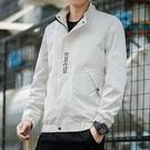 夾克外套 男士外套2021新款韓版潮流棒球服時尚立領夾克男裝上衣服潮【快速出貨八折搶購】