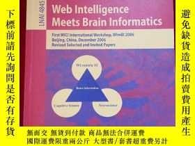 二手書博民逛書店Web罕見Intelligence Meets Brain In