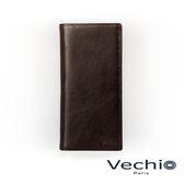 【VECHIO】經典商務男仕系列-14卡長夾(枯葉棕)VE042W03BR