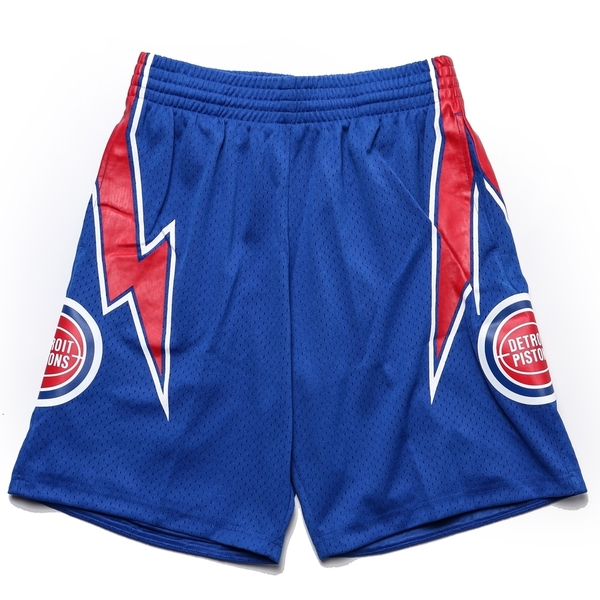 MITCHELL & NESS M&N 短褲 球褲 復古 活塞 客場藍 (布魯克林) MNSWSG210DR