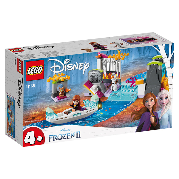 LEGO樂高 DISNEY 41165 Anna's Canoe Expedition 積木 玩具