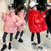 兒童棉服女 女童冬裝羽絨服2020新款兒童網紅加厚白鴨絨女孩秋冬洋氣羽絨【快速出貨八折搶購】