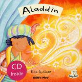 【麥克書店】ALADDIN/英文繪本附CD《童話故事:阿拉丁》
