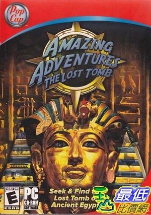 [7美國直購] 2018 amazon 亞馬遜暢銷軟體 Amazing Adventures  The Lost Tomb  PC