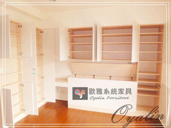 【歐雅 系統家具 】衣櫃結合床頭櫃梳妝台