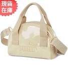【現貨】PUMA Core Up 迷你手提包 隨身包 亮面 米 粉【運動世界】07821602
