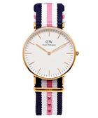 DW Daniel Wellington 經典Southampton女性手錶飾品(DW00100034)-白面X玫瑰金色框/36mm