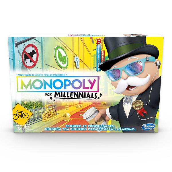 3-4月特價 MONOPOLY地產大亨 千禧世代版 桌上型多人同樂遊戲 桌遊 TOYeGO 玩具e哥