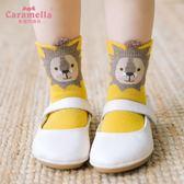 兒童襪子兒童襪子秋冬女中筒襪新生嬰兒純棉卡通寶寶襪1-3-5-7歲 喵小姐