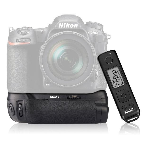 Meike 美科 MK-D500 PRO 含無線遙控器 = MB-D17 FOR D500 垂直手把 【保固1年】