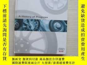 二手書博民逛書店A罕見History of progress 精裝!326Y10