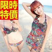 泳衣(三件式)-比基尼-音樂祭泡湯玩水必備休閒與眾不同3色56j71【時尚巴黎】
