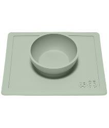 美國EZPZ 矽膠幼兒餐具 防滑餐碗-抹茶綠[衛立兒生活館]