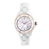 RELAX TIME 經典陶瓷腕錶 RT-93-12 可愛粉