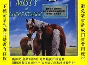 二手書博民逛書店英文原版罕見Misty of Chincoteague 辛可提島