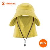 Wildland 中性抗UV可脫式遮陽帽W1032 / 城市綠洲 (UPF30+.防曬.防紫外線.機能帽.吸濕快乾透氣)