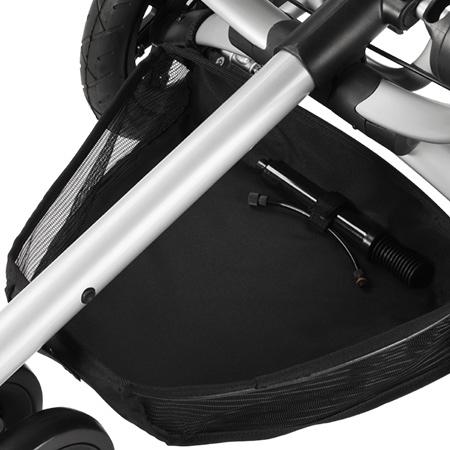 Quinny buzz嬰兒手推車-置物網籃(黑色)[衛立兒生活館]