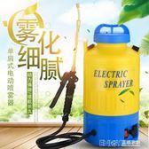 農用電動噴霧器8L單肩式高壓鋰電池多功能5升充電噴壺小型噴霧器igo 溫暖享家