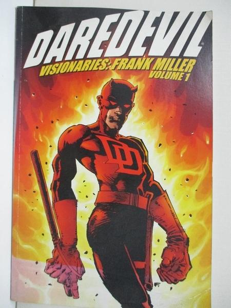 【書寶二手書T7/藝術_FLP】Daredevil Visionaries: Frank Miller_Mille_1第1集