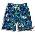 韓版情侶男女速幹大碼寬鬆海邊度假大沙灘褲OU73『極致男人』