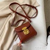 迷你小包包女2019新款韓版百搭時尚手提小方包復古小眾單肩斜挎包  探索先鋒