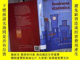 二手書博民逛書店BUSINESS罕見STATISTICS SECOND EDIT