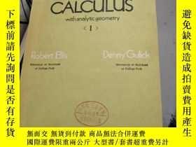 二手書博民逛書店Calculus罕見with analytic geometryY182287 不知道 不知道