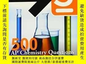 二手書博民逛書店5罕見Steps To A 5 500 Ap Chemistry Questions To Know By Tes