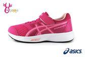 ASICS STORMER 2 運動鞋 女童 亞瑟士 透氣慢跑鞋O7651#桃紅◆OSOME奧森鞋業