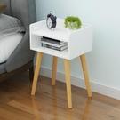 簡約現代床頭櫃臥室小型收納儲物櫃簡易經濟型床邊櫃小櫃子地櫃 幸福第一站