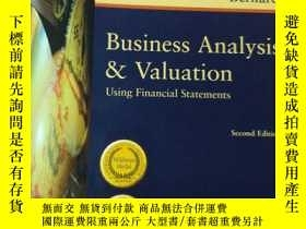 二手書博民逛書店Business罕見Analysis & Valuation:U